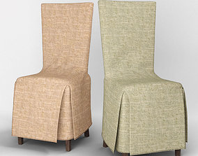 3D model chair with cover