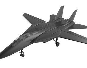 F14 tomcat 3D model realtime