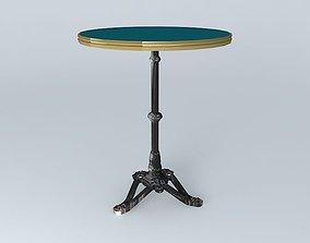 BISTRO TABLE RONDE ARDAMEZ Company blue 3D model