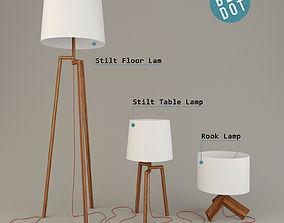 3D model Blu Dot Stilt and Rook