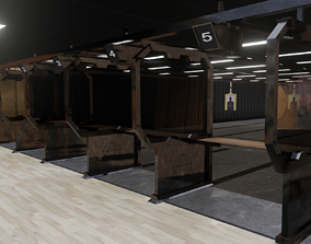 3D asset Shooting range