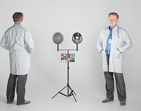 3D asset Male medical doctor 65