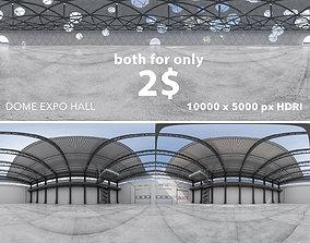 3D model Two interior 360 HDRI 32BIT