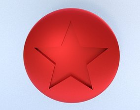 3D print model Red coin- super mario