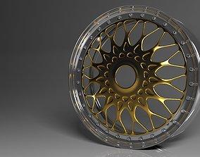 tires 3D model Rim concept