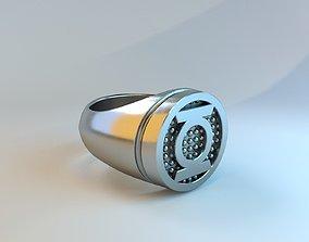 art 3D printable model Green Lantern Ring