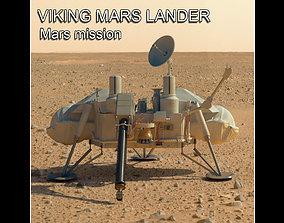 Viking mars lander 3D