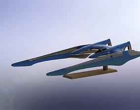 Space Ship 3D print model ufo