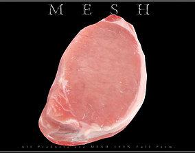 Pork Loin Steak 3D asset