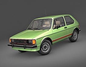 VolksWagen Rabbit GTI 1984 vw 3D