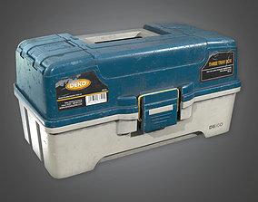 3D asset Tacklebox 02 TLS - PBR Game Ready