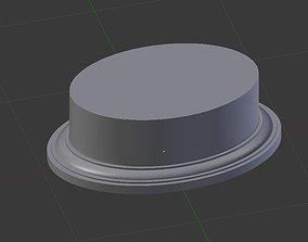 Oval Pedestal 3D printable model