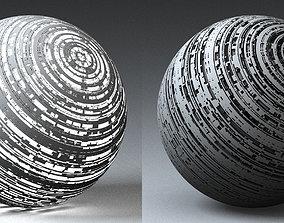 3D model Syfy Displacement Shader C
