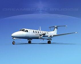 Beechcraft B1900C V12 3D