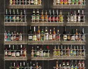 3D Large bar 7 Alcohol
