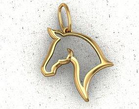 3D print model The HORSE