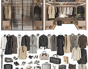 3D model Walk-in Closet 98 part 2