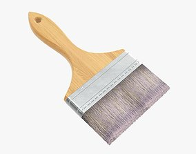 3D Wide painting brush 03