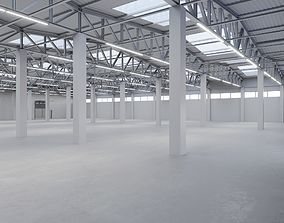 Industrial Warehouse Interior 2 3D model