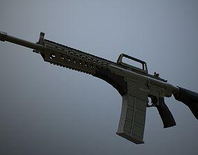 3D asset MPT-76 Trukish Battle Rifle