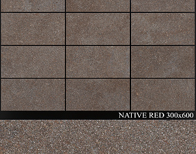 ABK Native Red 300x600 3D
