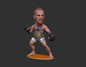 3D printable model mma Conor McGregor