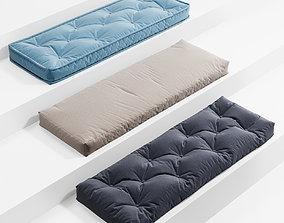 3D Seat Pillows Set 1