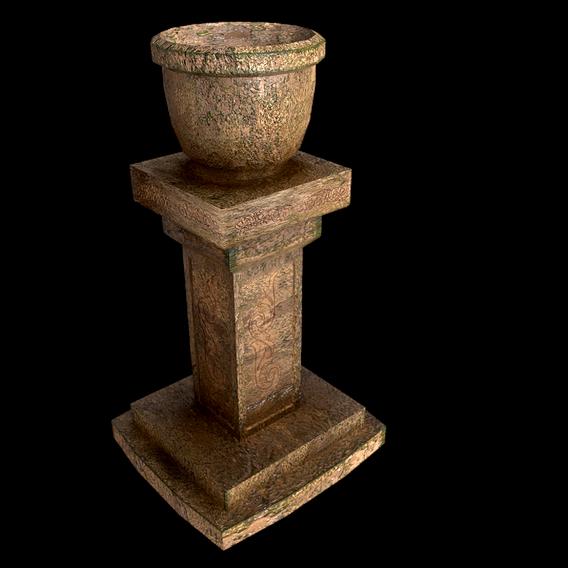 classical garden vase