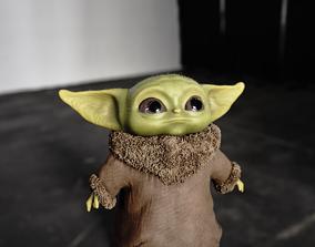3D asset Yoda Baby