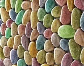 3D Panel pebble smooth Color Bathroom n2