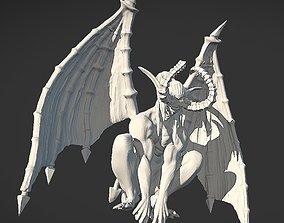 Gargoyle Illidan 3D print model