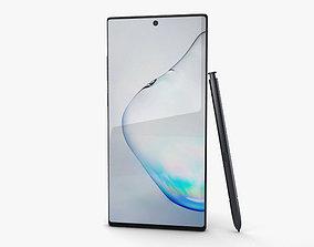 Samsung Galaxy Note10 Plus Aura Black 3D