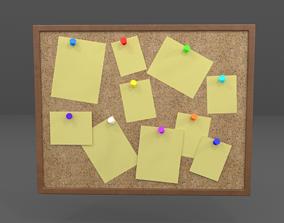 3D asset Pinboard
