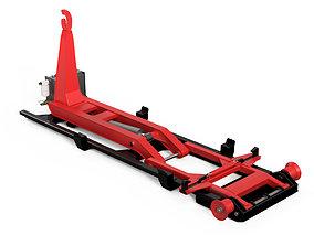 Hookloader City Lifting and tipping loader 3D model
