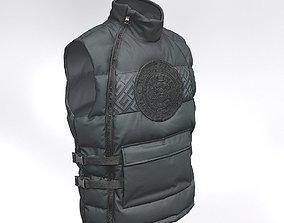 Glorious Gangsta BAZIN GILLET Vest black 3D model