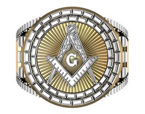 masonic ring 73 3D print model