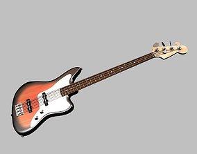 Bass Guitar audio-device 3D