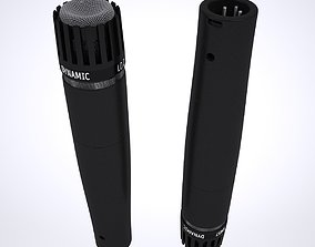 3D Shure SM57 Microphone sports
