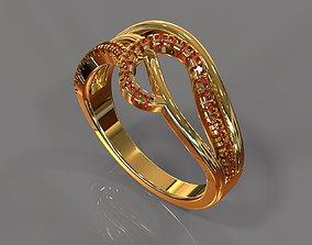Precious ring wedding 3D print model