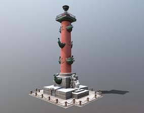 3D model Rostral Columns PBR 4K