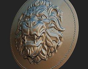 buckle Lion 3D print model
