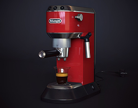 3D Coffee-machine Delonghi EC 680