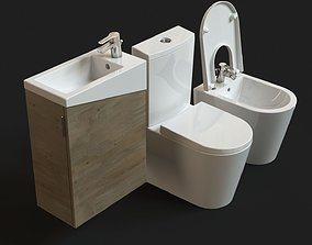 Urb Y Plus Sanitaryware FREE model 3D