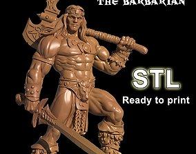 Bronen The Barbarian 3D print model
