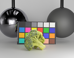 3D model Bunch of broccoli 28