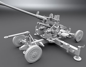 Bofors 40mm Cannon Scale Model