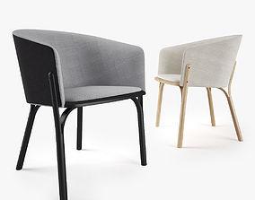 Ton Split Chair 3D model