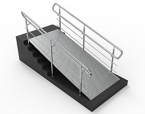 3D Ramp with railing