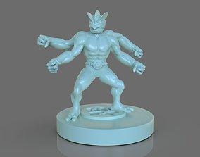 3D print model Pokemon Machamp Figurine and ZBrush