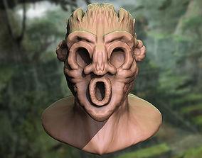 3D print model Ancient Forest Head